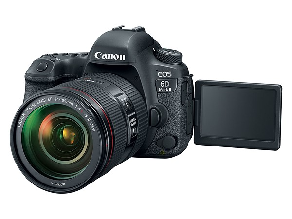 обзор canon 6D mark II