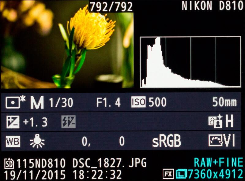 что такое гистограмма в фотоаппарате